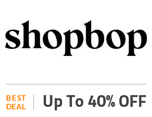 Shopbop Deal: Up to 40% OFF On Clothing, Shoes & More Off