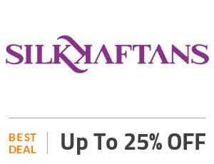 Silk Kaftans Deal: Get Up to 25% Discount on Best Selling Kaftan Off