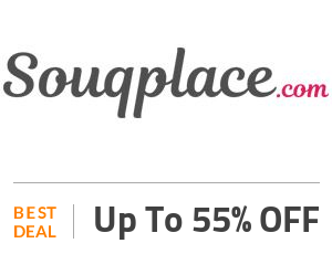Souqplace Deal: Save up to 55% On Selected Products Off