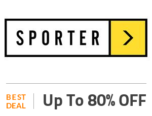 Sporter Deal: Up to 80% OFF On Top Selling Supplements Off