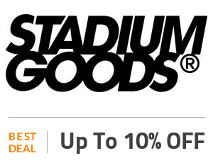 Stadium Goods Deal: Enjoy 10% OFF On All Products Off