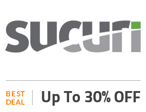 Sucuri Deal: Get Up to 30% OFF Website Security Package Off