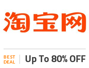 Taobao Deal: Up to 80% OFF on Women Fashion Off
