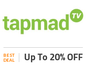 Tapmad Deal: Up to 20% for new Supscreption Plan Off