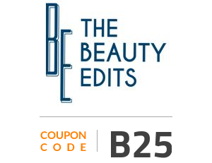 The Beauty Edits Coupon Code: B25