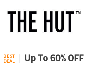 The Hut Deal: Up to 60% OFF On Fashion & Beauty Products Off