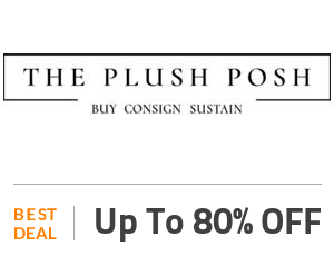The Plush Posh Deal: Get Up to 80% Discount on Bags, Accessories & Footwear Off