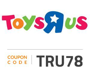 Toys R Us Coupon Code: TRU78