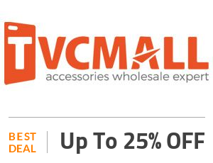 TVC-mall Deal: Get Up to 25% Discount Mobile Accessories Off