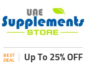 uaesupplements Deal: Get Flat 25% OFF SiteWide Off