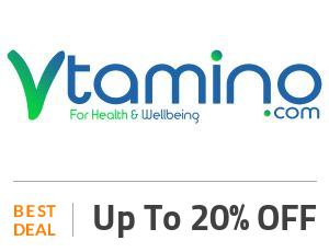 Vtamino Deal: 20% Off On Best Combinations Off