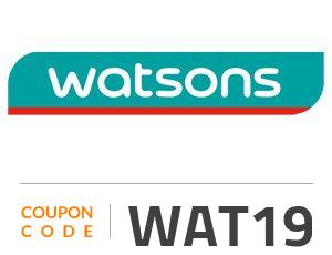 Watsons Coupon Code: WAT19