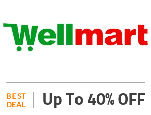wellmart Deal: Get Up to 40% OFF On Grocery Products Off