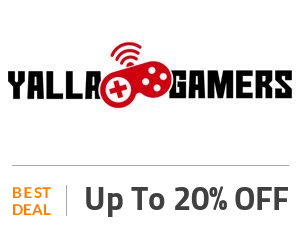 Yalla Gamers Deal: Save Up to 20% Games Off